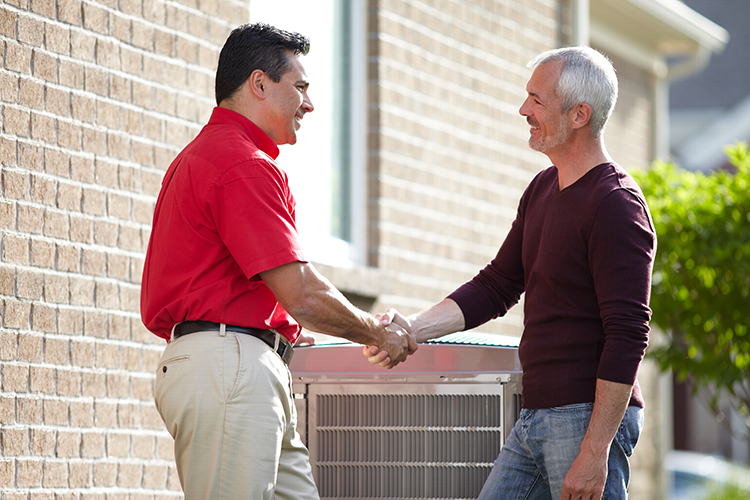 Heating and air maintenance agreements